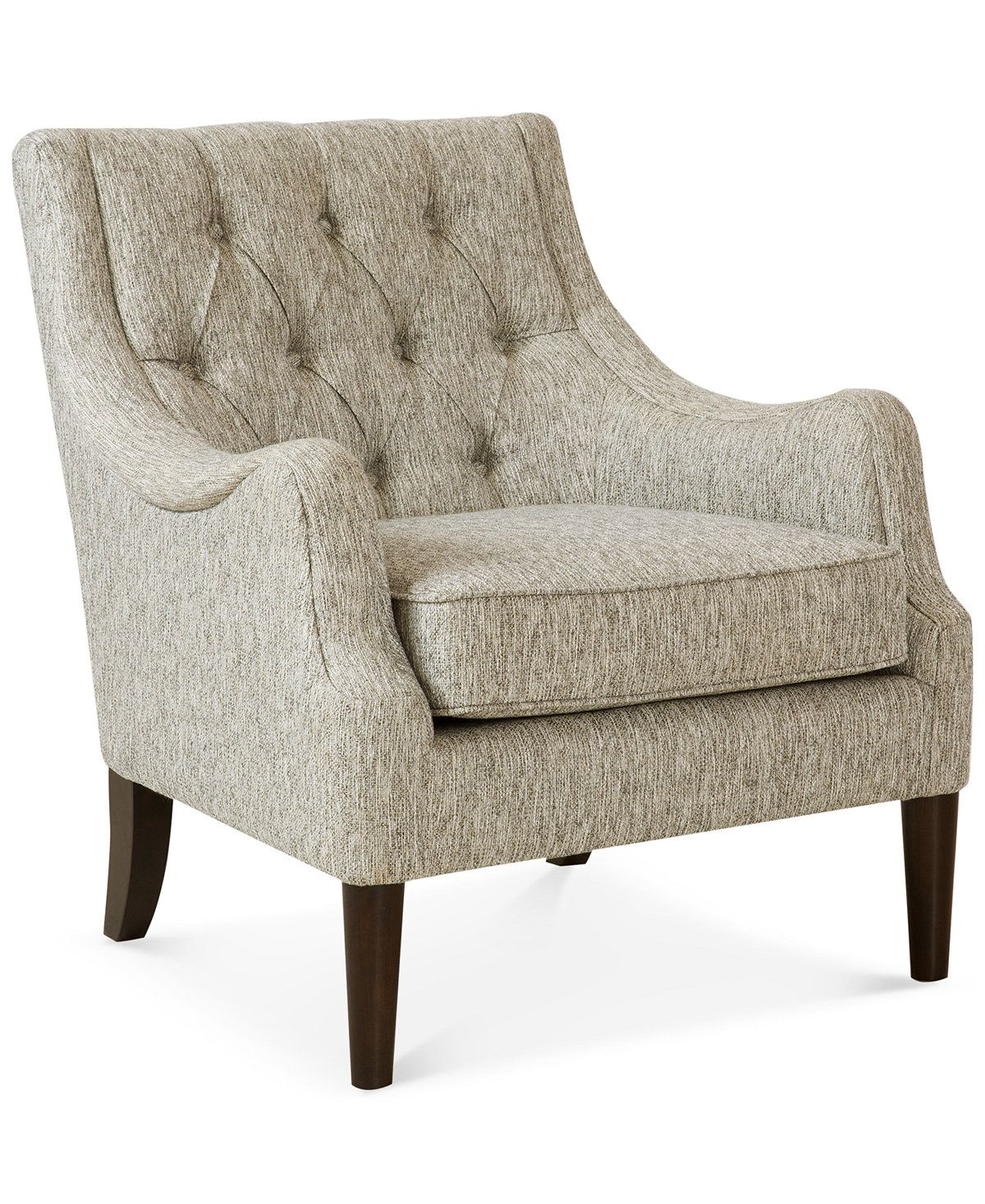 Furniture Glenis Tufted Accent Chair Reviews Chairs Furniture Macy S Tufted Accent Chair Accent Chairs For Living Room White Accent Chair