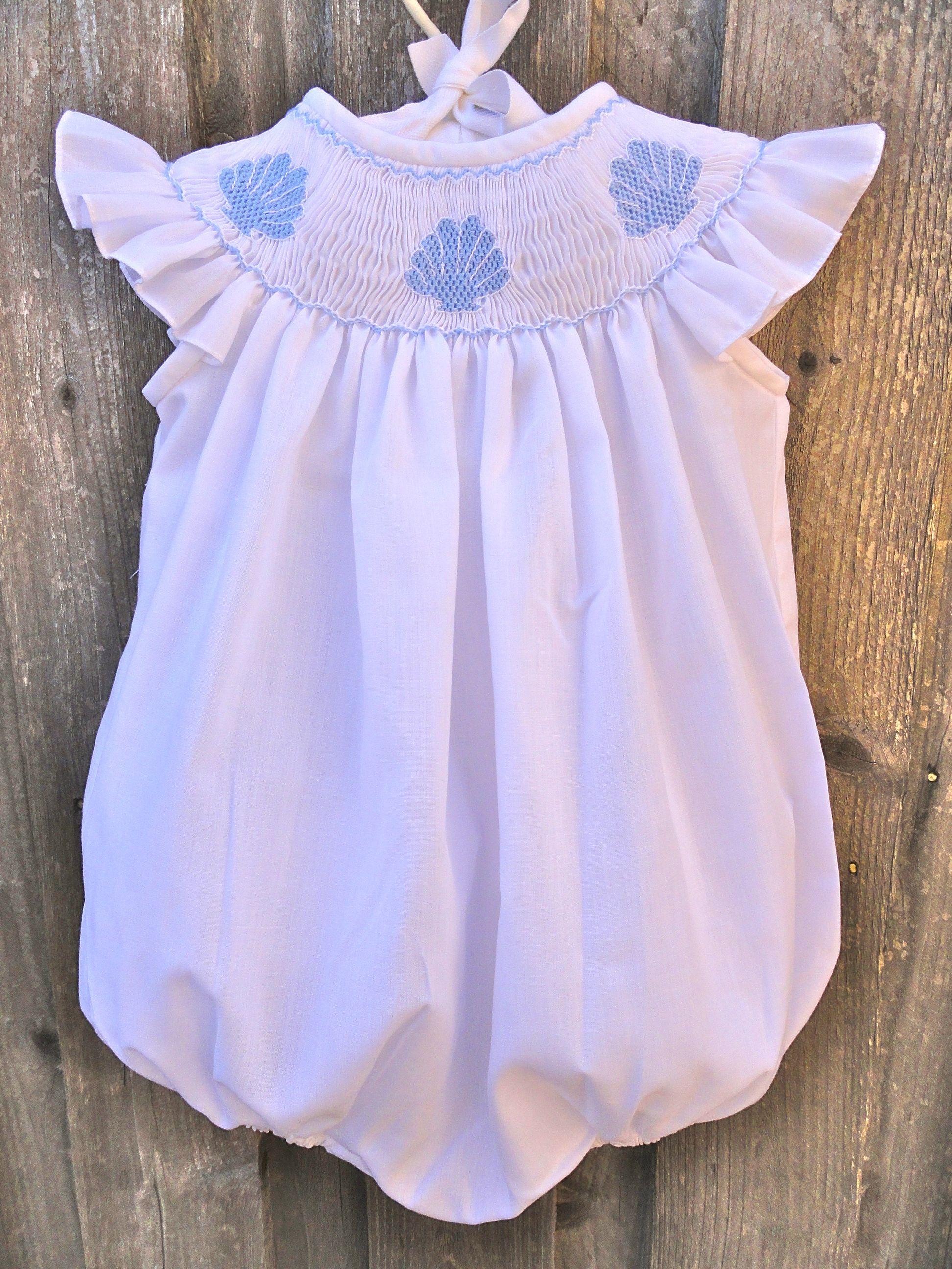 Smocked Seashell Dress