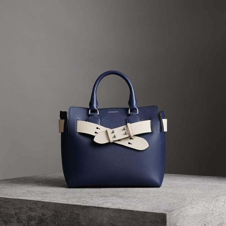 8cd09b26f85 The Small Leather Belt Bag in Regency Blue - Women in 2019   Shoes ...