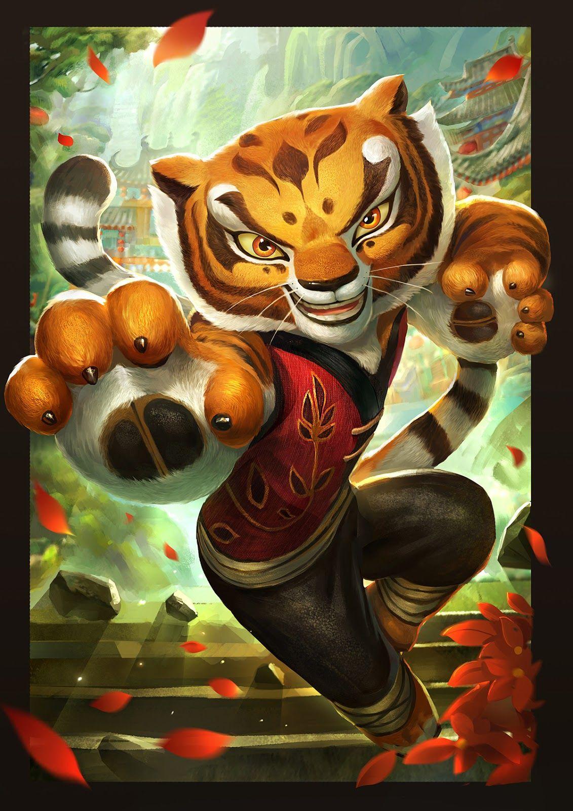 Tigress   Characters   Kung Fu Panda   Kung fu panda 3