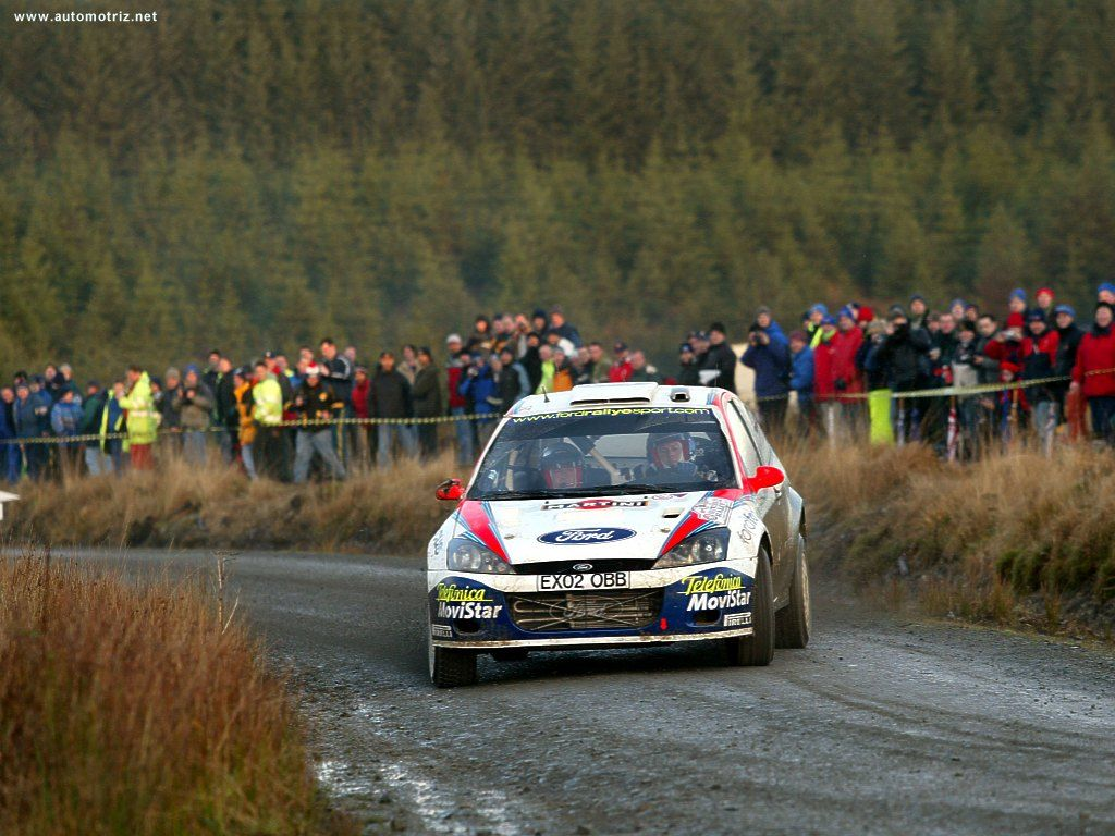 Ford Focus RS WRC Colin McRae The Best rally driver last decade