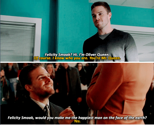 We've Come So Far .. #Olicity #1.3 #4.9 <3
