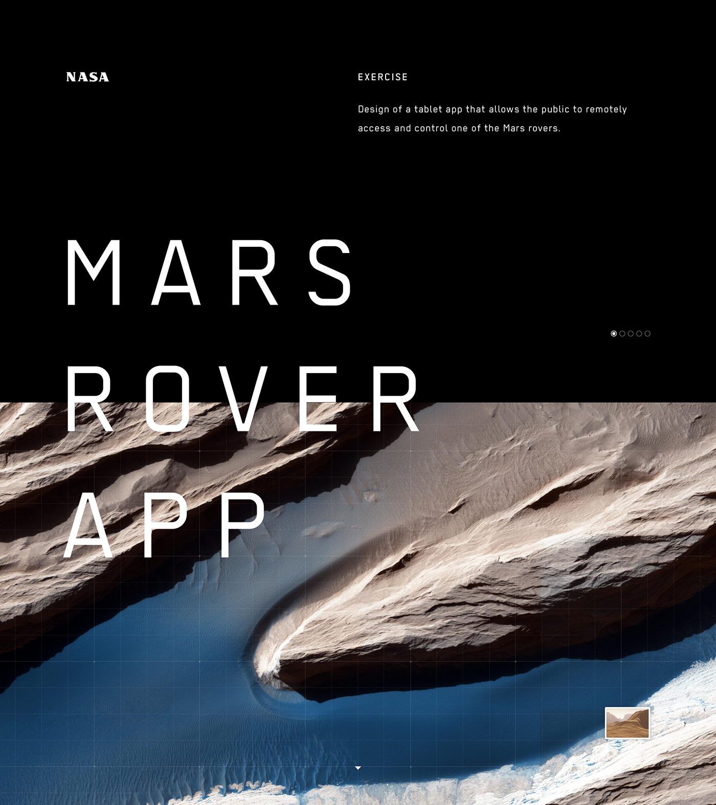 Mars Rover App for NASA on Behance