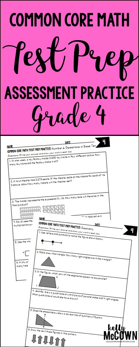 Common Core Math Examples Grade 4