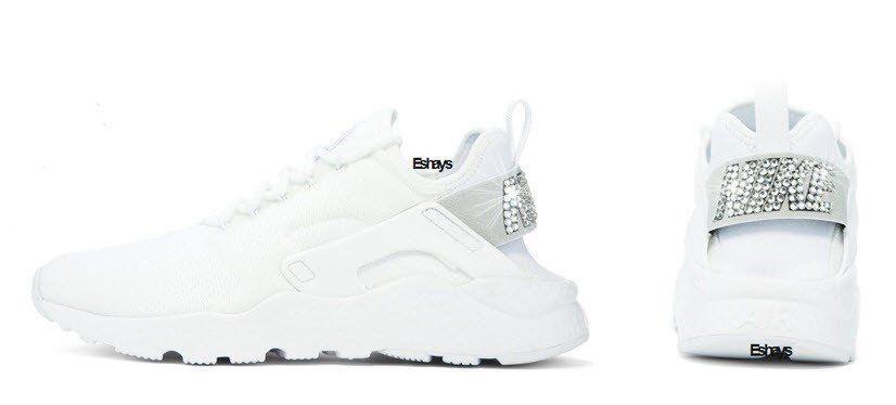 Crystal Nike Air Huarache Ultra White  b30c896923