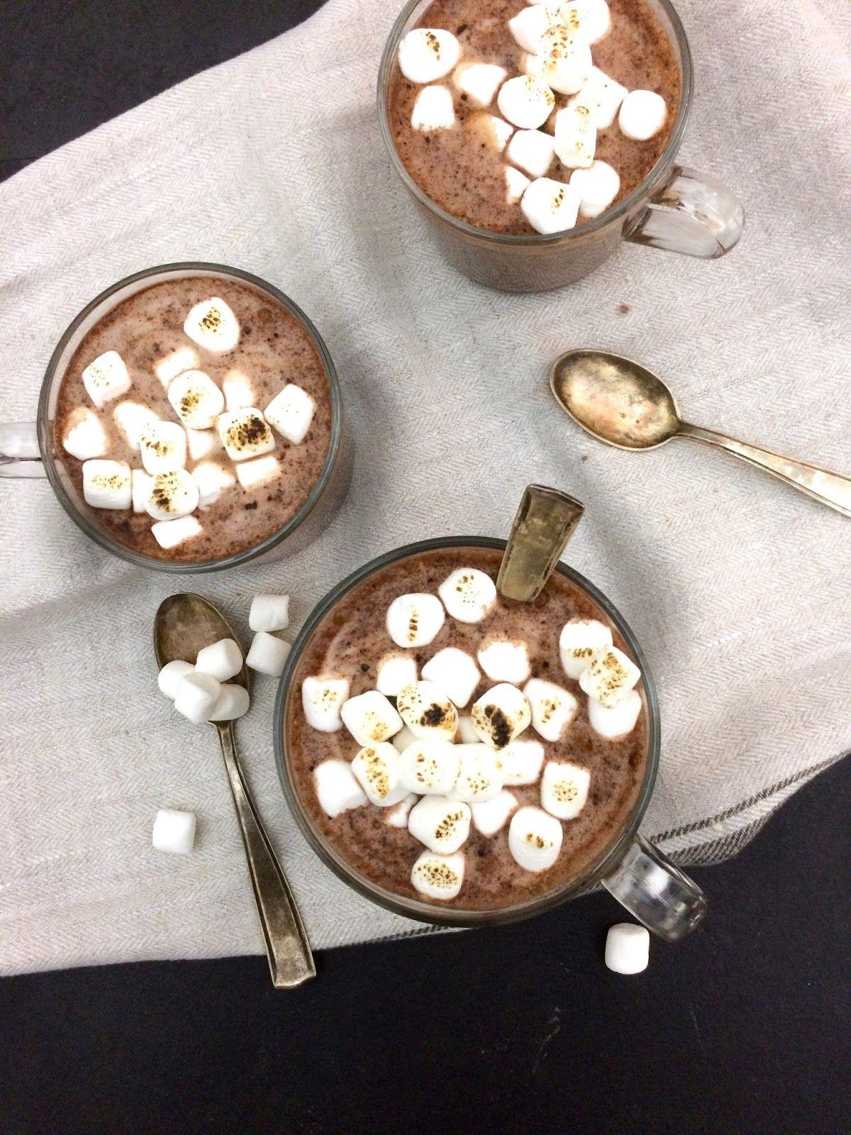 Vegane heiße Schokolade in 2018 | FRÜHSTÜCK | Anna Lee EATS ...