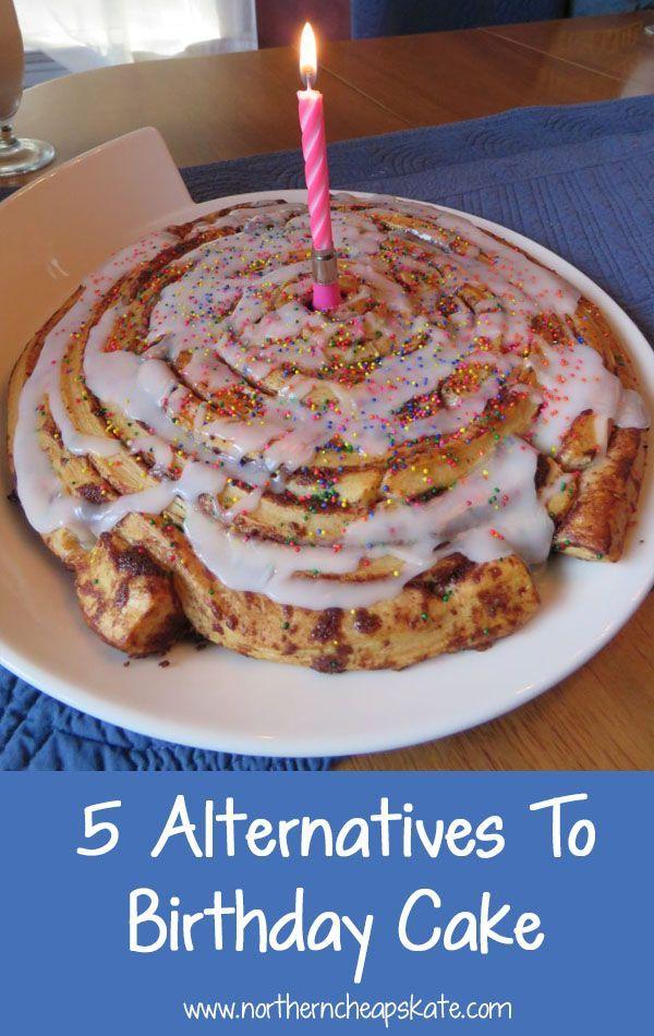 5 Alternatives To Birthday Cake Birthday Cakes Alternative And