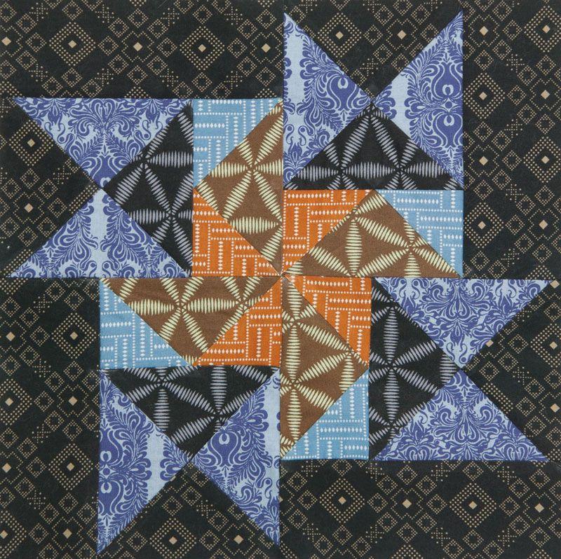 Free Quilt Block Pattern: Flying Dutchman from Quilters Newsletter ... : flying dutchman quilt pattern - Adamdwight.com