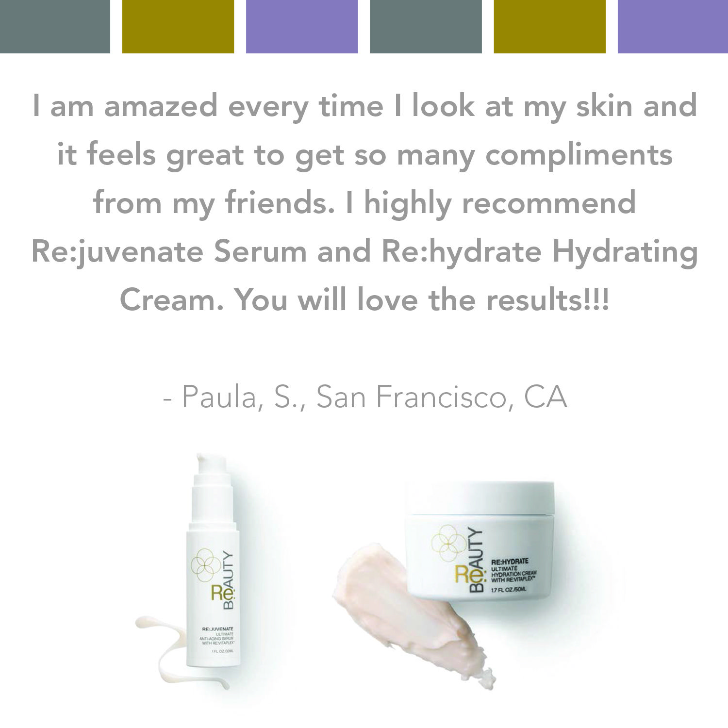 testimonialtuesday Products you can't stop talking about
