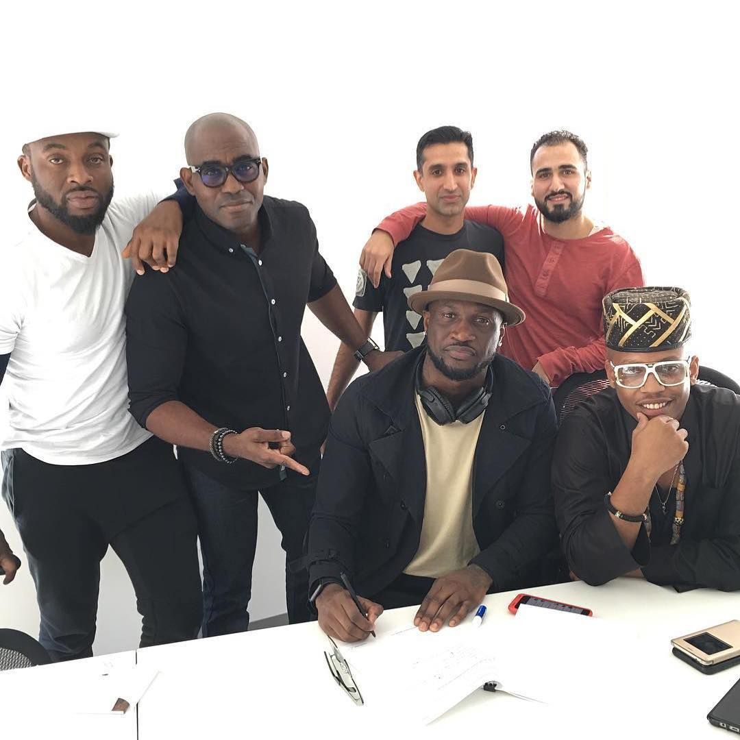 Peter Okoye Of Psquare Signs Record Deal With American