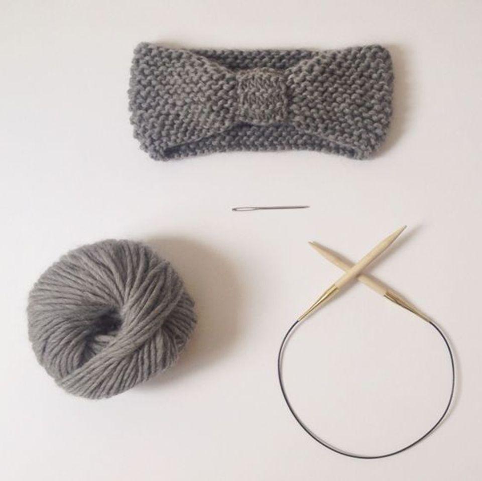 Photo of Stirnband stricken – so einfach ist das