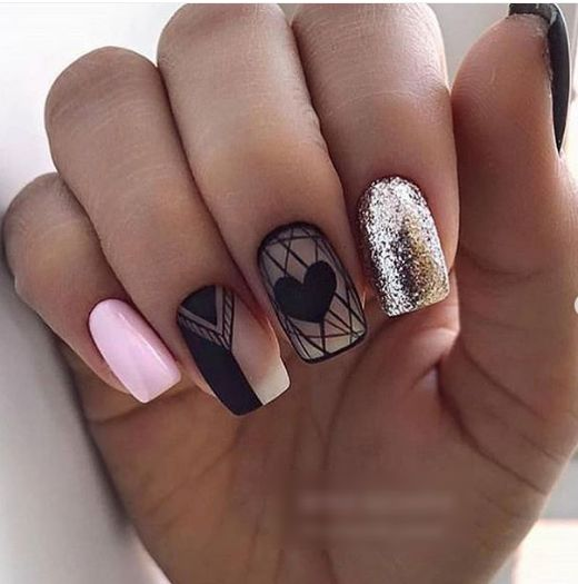 gel nail colored 2018 trends