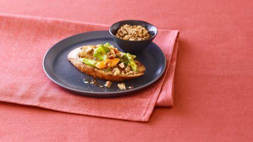 Walnut Dukkah with Bruschetta and Spring Vegetables
