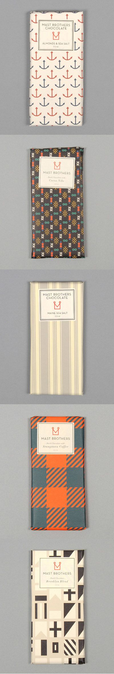 Mast Brothers Chocolate Bar Packaging http://www.hickorees.com/