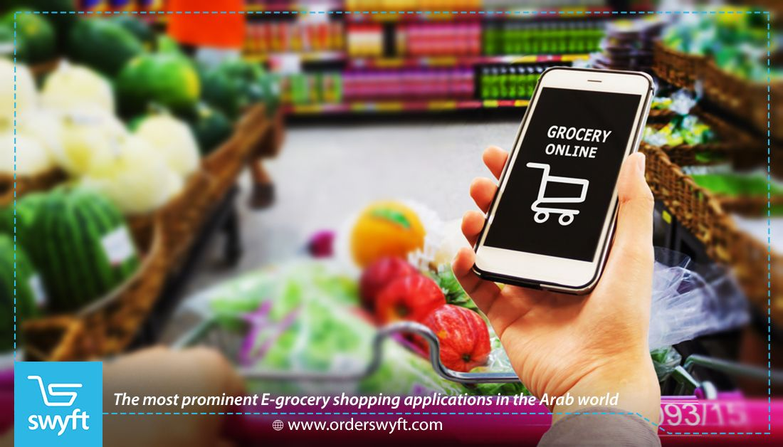 The Most Prominent E Grocery Shopping Applications In The Arab World Snack Delivery Delivery App Grocery Online