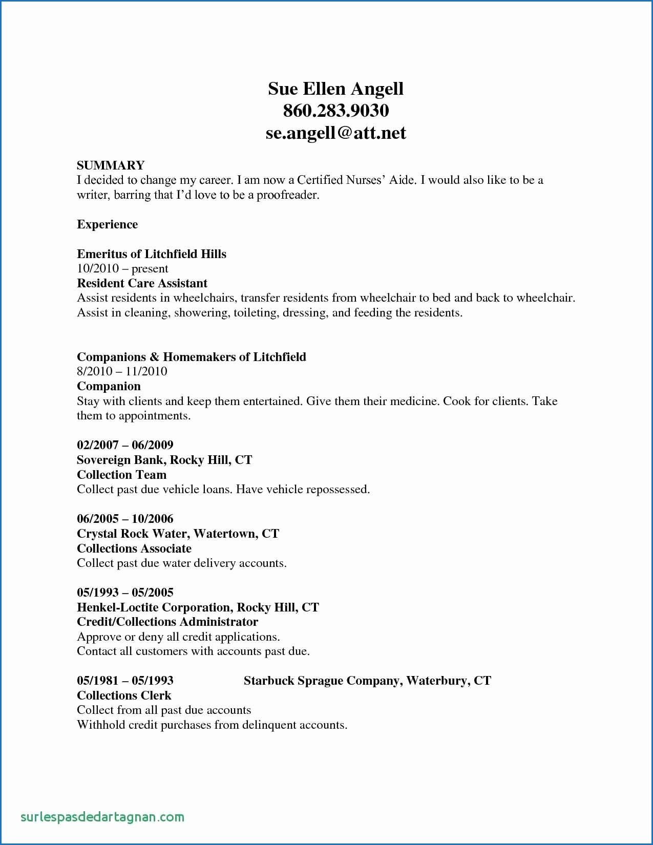 11 Resume Examples Administration Australia