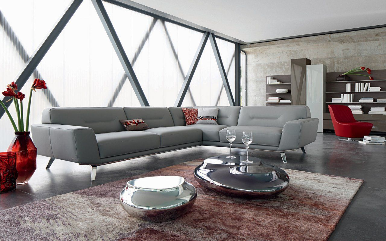 Perle Corner Sofa Sacha Lakic Design For The Roche Bobois Spring  # Canape Cinema Roche Bobois