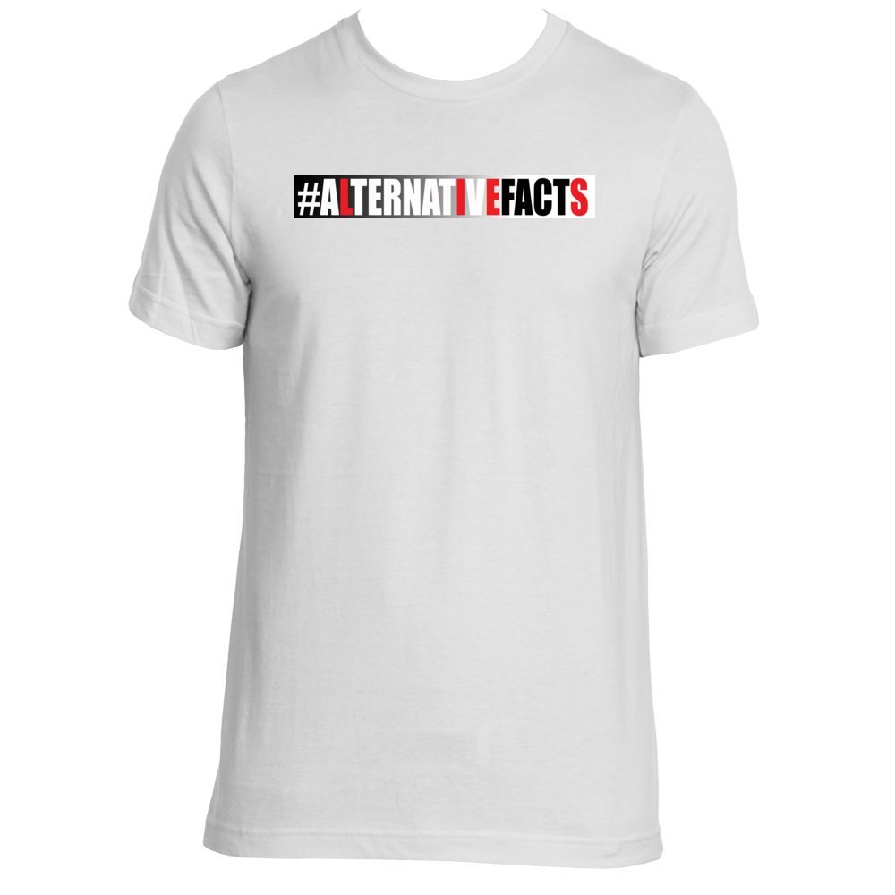 Alternative facts mens tee
