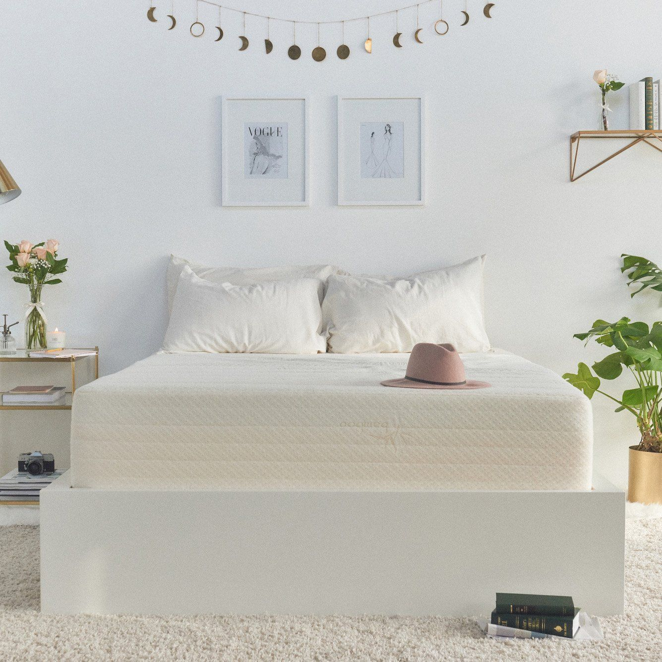 Amazon Com Brentwood Home Cypress Mattress Bamboo Derived Rayon Cover Gel Memory Foam Made In Usa 11 Inch