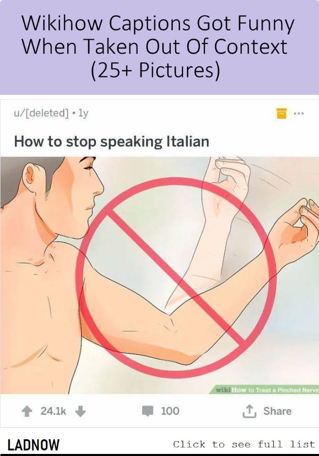 Wikihow Captions Got Funny When Taken Out Of Context 25 Pictures Ladnow Funny Weird Facts Context