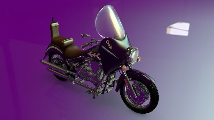 Prince S Motorcycle From Purple Rain Harley Davidson Pinterest