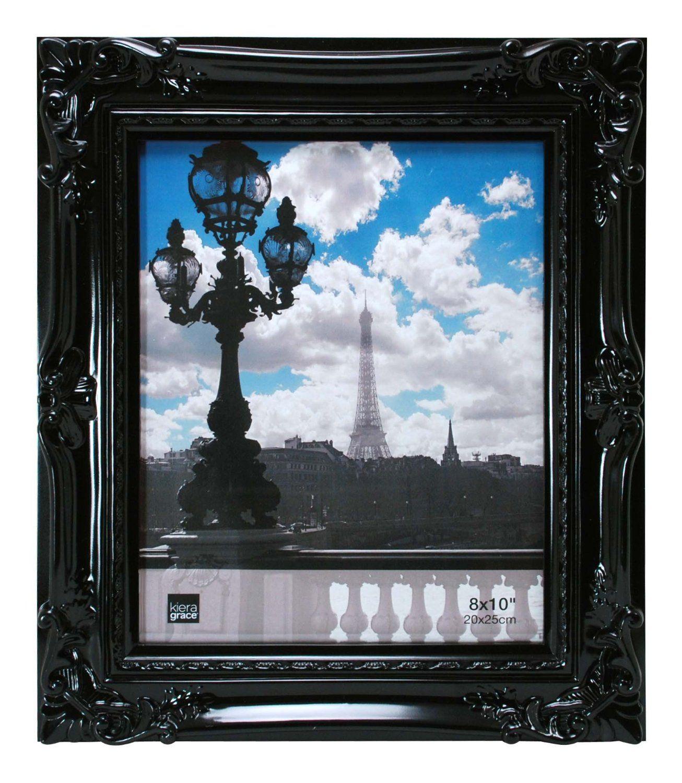 Amazon.com - Kiera Grace Virginia Ornate Picture Frame, 8 by 10-Inch ...