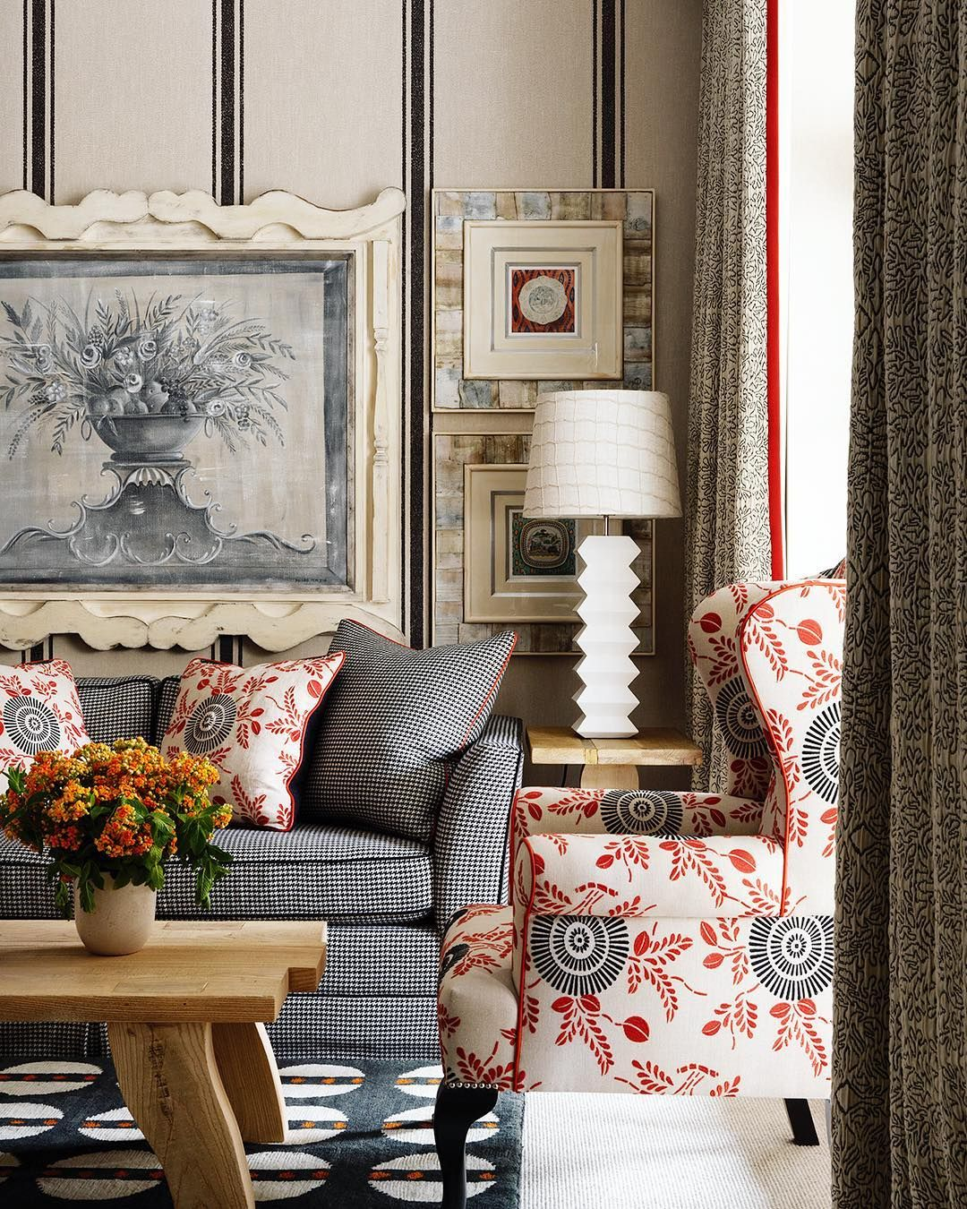 Firmdale Hotels By Kit Kemp A Stunning Drawing Room Decor Interior Interior Design