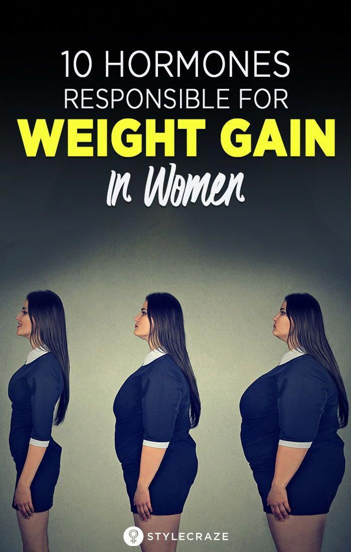 10 Hormones Responsible For Weight Gain In Women: The triggers of a disrupted hormonal balance can b...