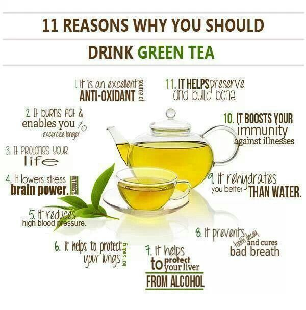 Green tea... I know nothing in this world can compare to a good cup of Coffee.. but the Benefits of tea are really impressive!!