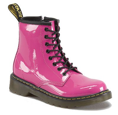 Dr. Martens Hot Pink Kid's Boots  http://www.onlinebootstore.com/great-boots/items/DMR15382670.html