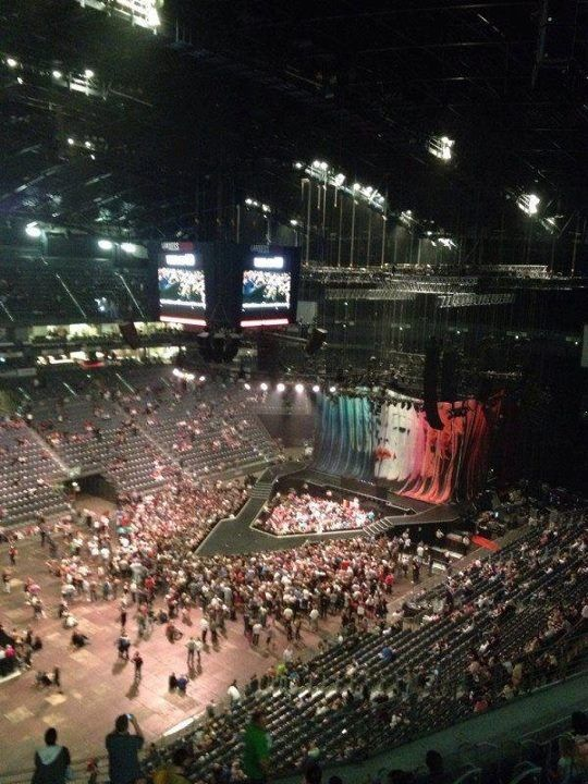 Photo Mdna Tour Audience In Cologne Lanxess Arena Photo Tours Arena