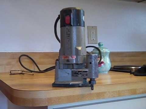 Router Direction Trimming Formica Plastic Laminate Vacuum