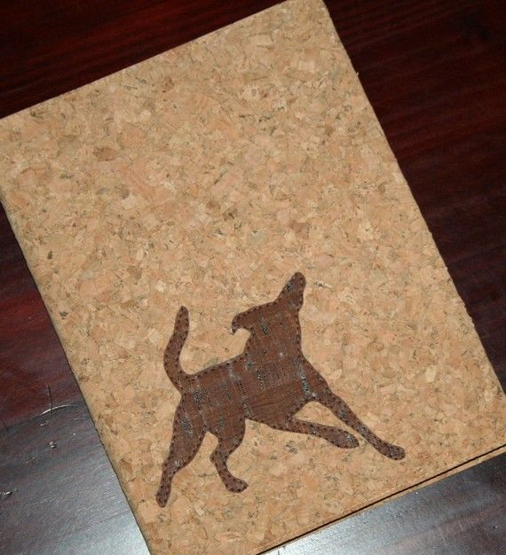 Cork Covered Journal Notebook