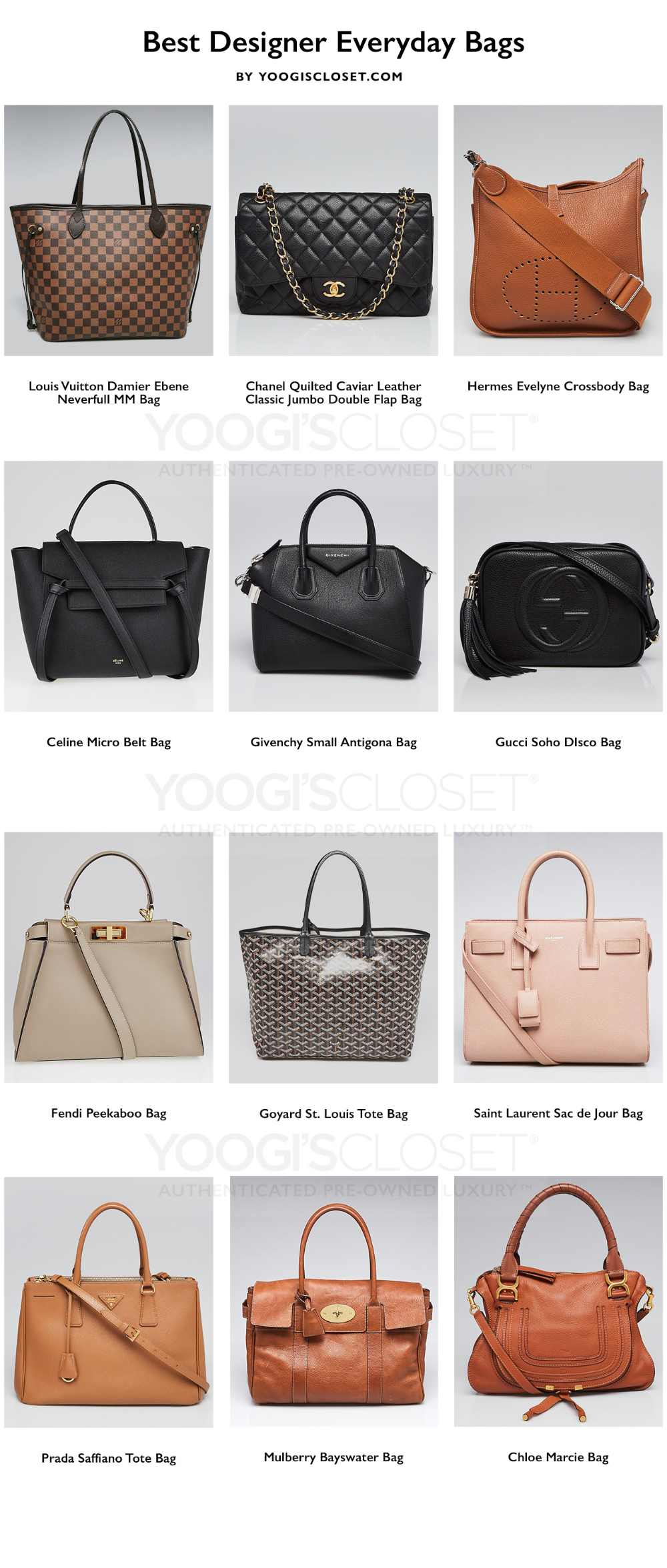 Best Everyday Designer Bags To Invest