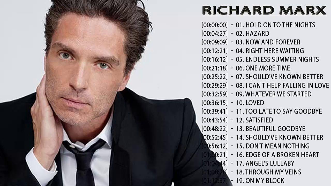 Richard Marx Greatest Hits Richard Marx Songs Collection Youtube ในป 2020