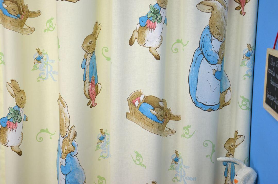 Ecru / Beige Gordijn Peter Rabbit | PETER.11.140 | KinderGordijnen ...