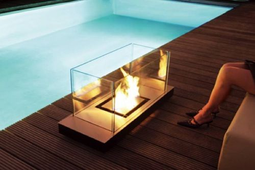 Superbe Portable Glass Fireplace By Conmoto So Toasty: 10 Brilliant Portable  Fireplaces