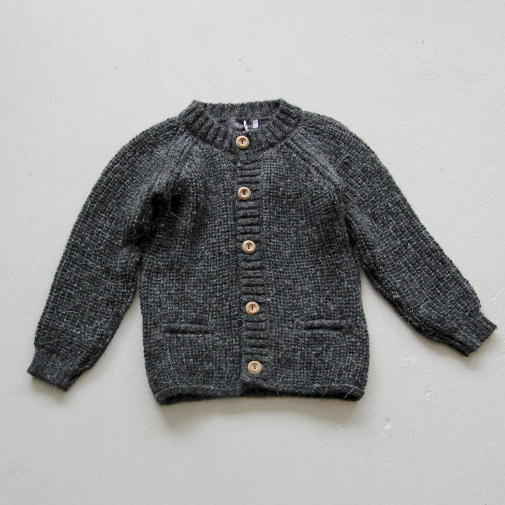 Tocoto Vintage chunky charcoal cardigan coat was £44 | Kids ...