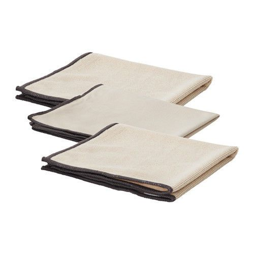 Ikea Skvalpa Set 3 Microfibre Cloth Cleaning Cloth