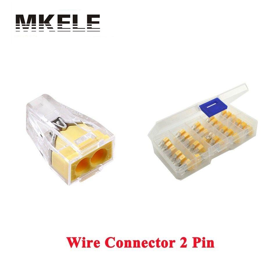 US $4.0 |Hot Sale 30PCS Push Wire Connector Univer