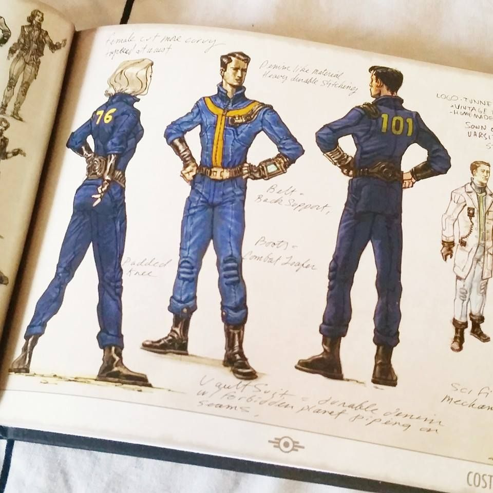 Vault Suits - 101 #fallout | fallout | Fallout cosplay