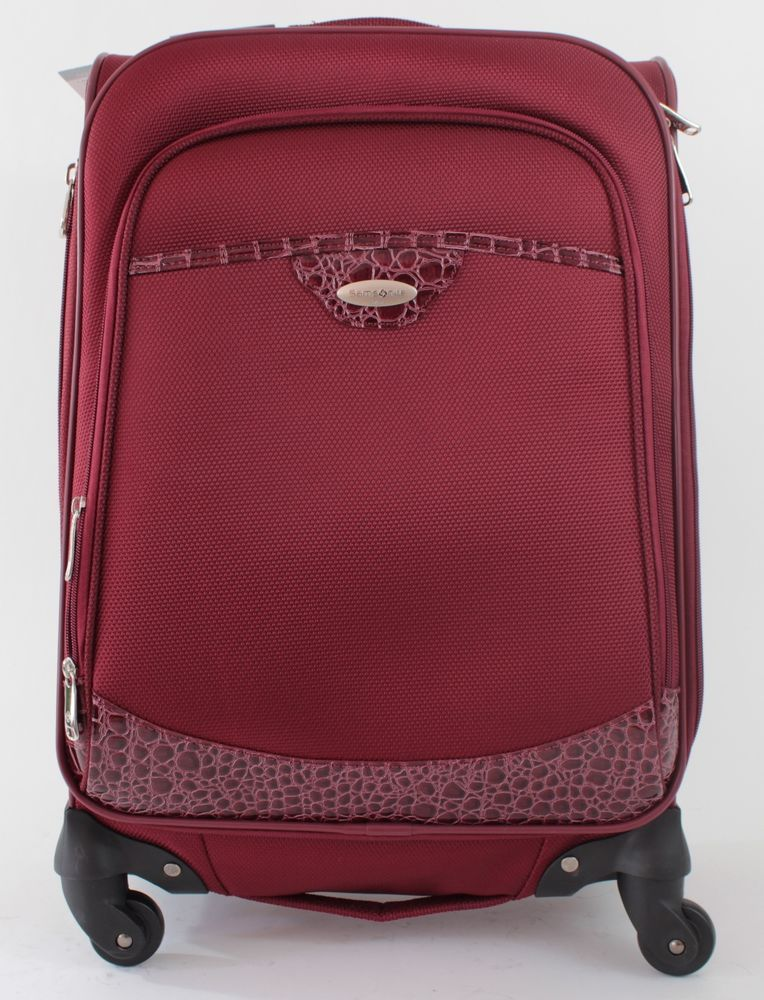 Samsonite Exquisite Luggage Carry On Suitcase 21 Inch Spinner ...