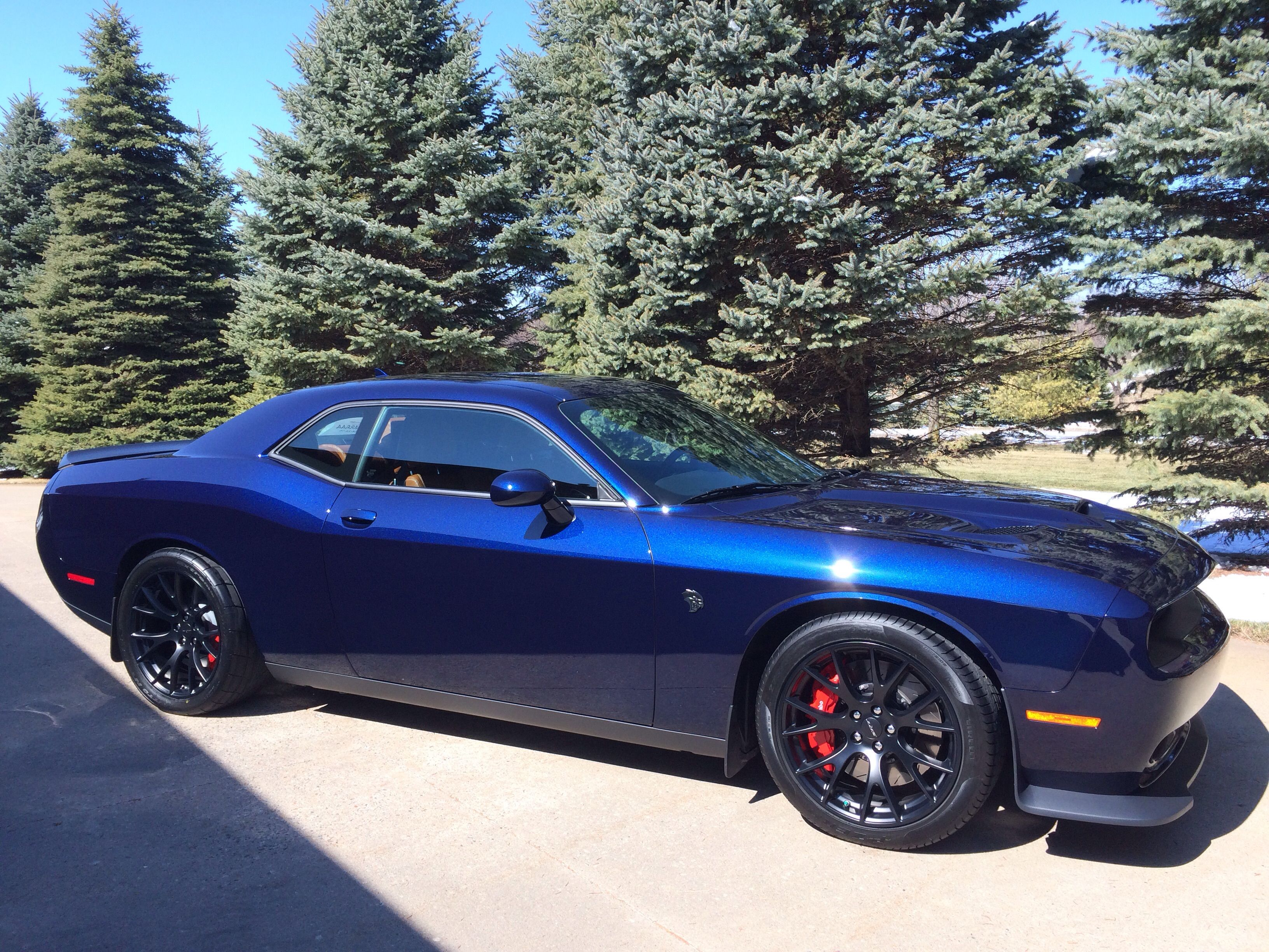 Challenger Scat Pack >> jazz blue challenger hellcat - Google Search | Hellcat and ...