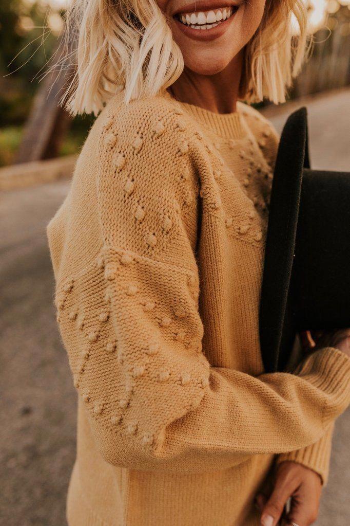 Rylee + Cru Bobble Sweater