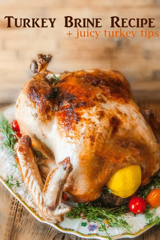 Citrus & Herb Turkey Brine Recipe for a Juicy Thanksgiving Turkey