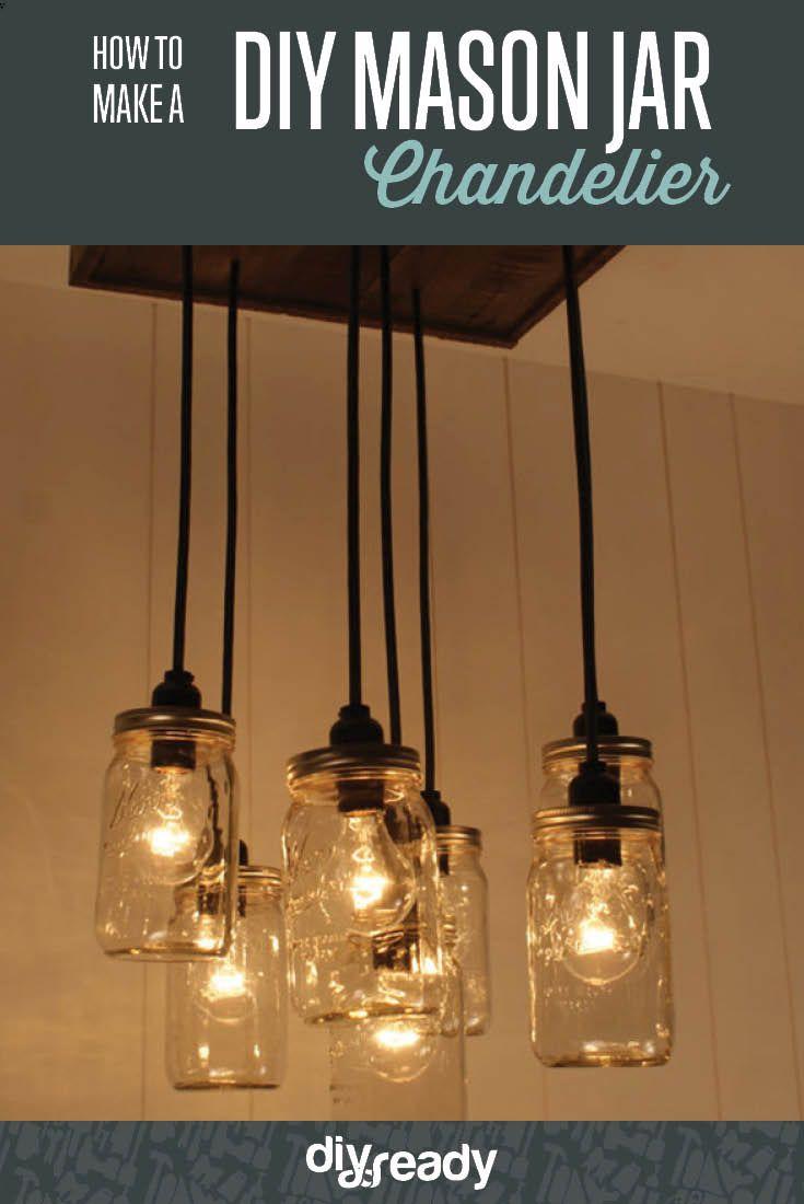 How to make a mason jar chandelier mason jar chandelier jar how to make a mason jar chandelier arubaitofo Gallery