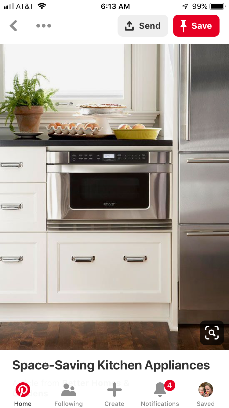 pin by sarah linden on island finishes in 2019 space saving kitchen microwave cabinet on kitchen organization microwave id=33298