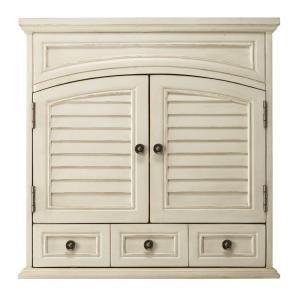 W Wall Cabinet In Antique White 1208900560 At The Home Depot