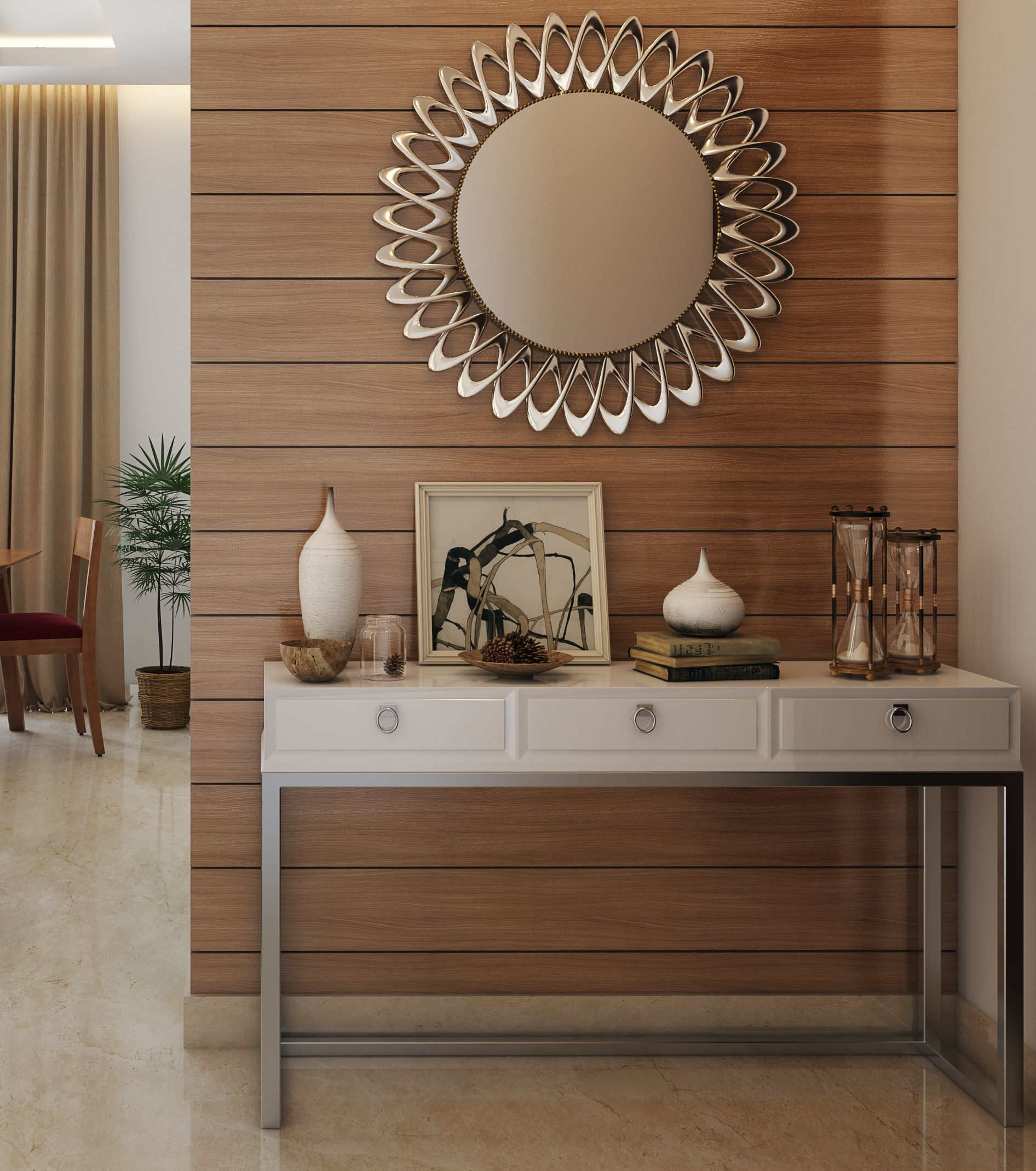 Decorative Mirror Table Pin On Foyer Designs Entryways