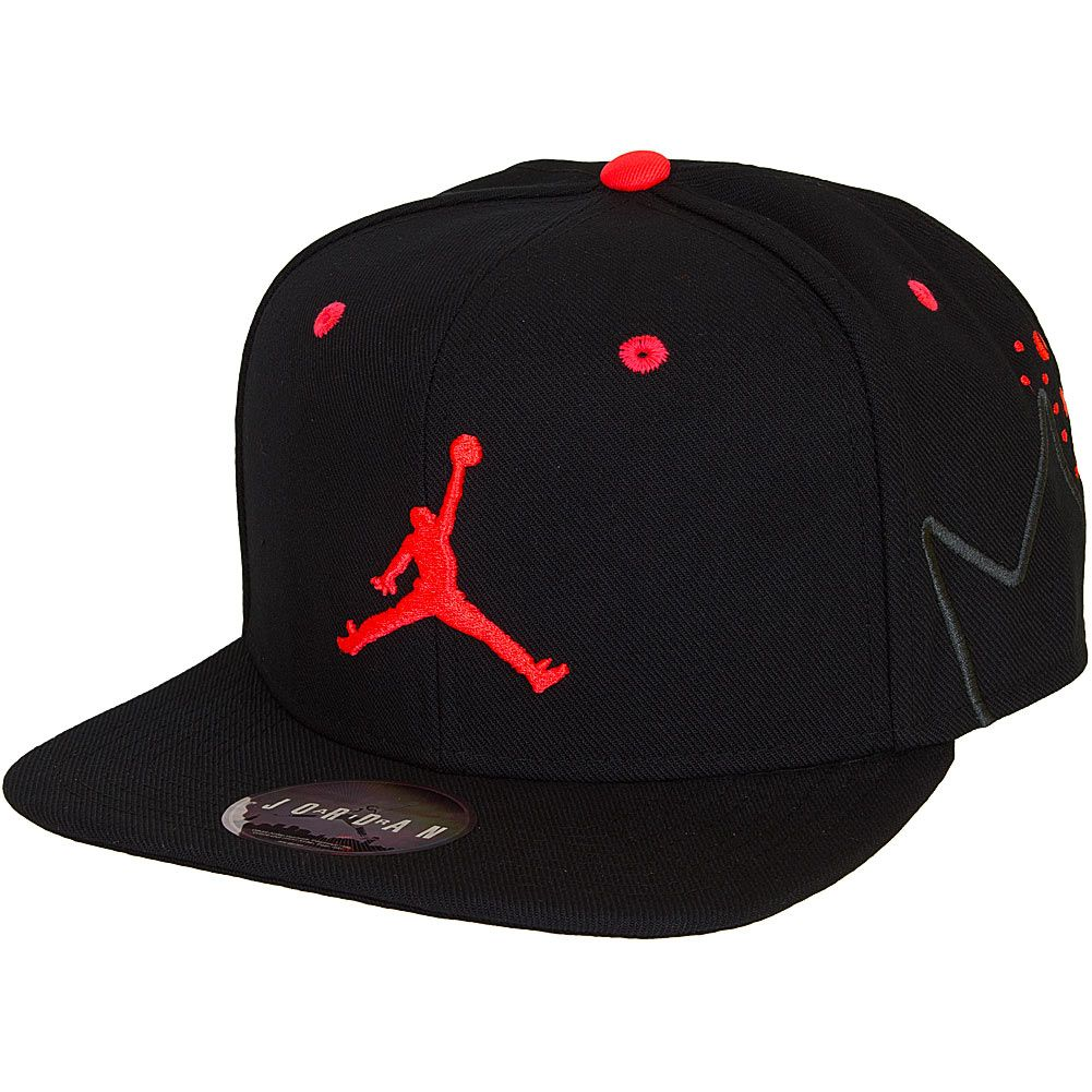 low priced 5a93d f1637 Nike Cap Air Jordan VI Sneaker schwarzrot